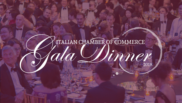 Italian Chamber of Commerce Gala Dinner 2018